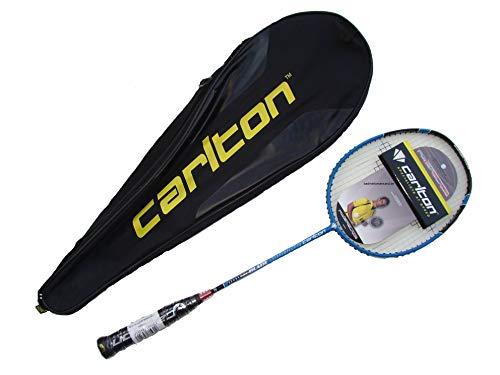 Carlton Badminton Schläger Powerblade Superlite Badmintonschläger (Blue Deluxe Edition)