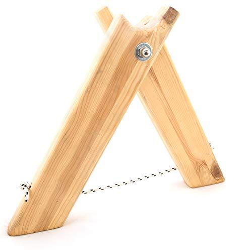 SPIDER SLACKLINE SISBM - Slackline Holzbefestigung - Set 2X Höhe 110 cm - Slackline Zubehör, Boden - Oder Wandanker, Innen- oder Außenbereich - Geeignet für Longlines - Made in Italien