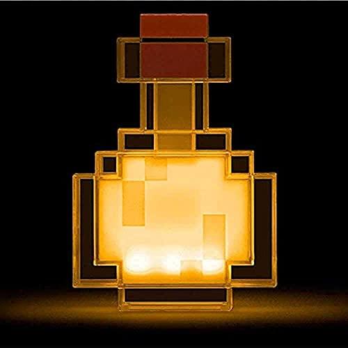 Colore che cambia la bottiglia di pozione si accende e passa tra 8 varianti di colore agitare controllo notte lampada giocattolo cambia colore bevanda bottiglia luci,funzionamento a batteria