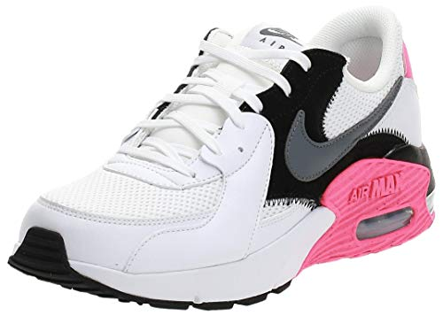 Nike Damen Air Max Excee Sneaker, White Cool Grey Black Hyper Pink, 41 1/3EU