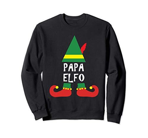 Ropa de Navidad para Familia - Papa Elfo Sudadera