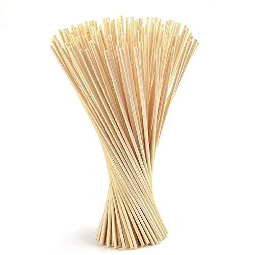 Coriver 150 Piezas de Varillas difusoras de lámina, reemplazo de Varillas difusoras de Fragancia de Aceite Esencial de habitación para Fragancia de Aroma -24 cm * 3 mm