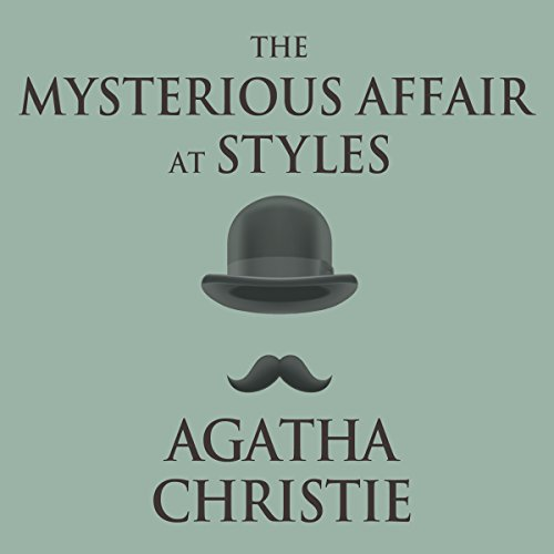 The Mysterious Affair at Styles audiobook cover art