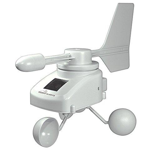 La Crosse Technology MA10660 -Anemómetro Solar conectable, para añadir al Kit de Arranque MA10001