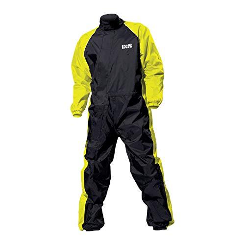 IXS Orca Evo traje combinado para lluvia - M, negro-amarillo neón