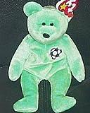 TY Beanie Baby - KICKS the Soccer Bear by Ty Inc.
