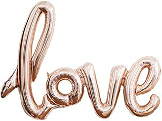 Giant Rose Gold 108cm Love Foil Balloon Anniversary Weddings Bachelorette Valentines Party