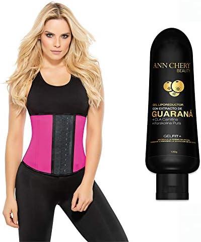 Ann Chery Women s Faja Deportiva Workout Waist Cincher Small Pink Guarana product image