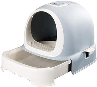 フード付き本体セット 猫用トイレ本体 ドームタイプ 楽ちん猫トイレ システムトイレ用 全3色