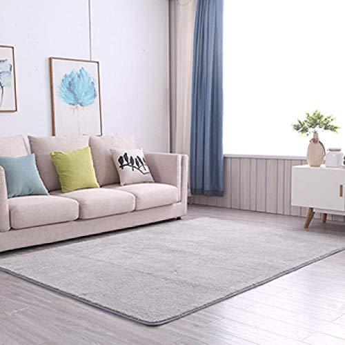 Ikea - Alfombra de salón de color liso para sofá, mesa baja,...