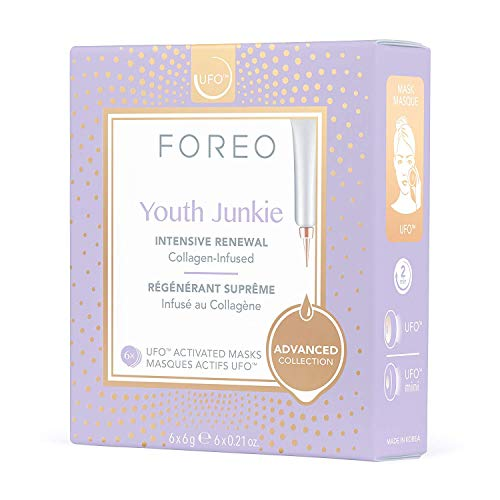 Foreo Youth Junkie UFO-Activated Mask, 1er Pack (1 x 6 Stück)