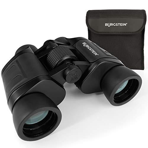 Burgstein® Fernglas 8x40 - klein & kompakt für Erwachsene, Fernglas mit Tragetasche und Poliertuch - Kompaktfernglas für Reisen, Vogelbeobachtung und Wanderung