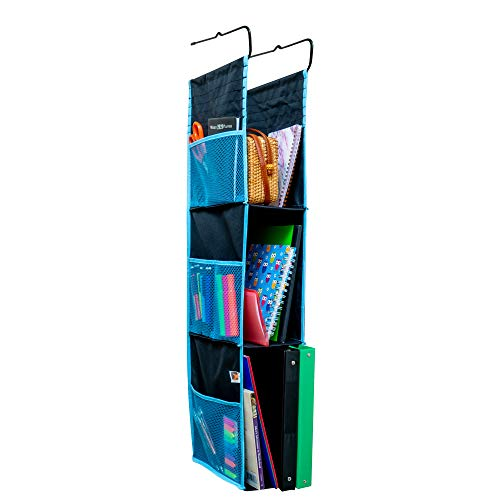 Eximius Power Hanging Locker Fabric Closed Back Cupboard Organizer 3 Shelves Sturdy & Compact Storage Space for School Gym Work or Closets Multiple Purposes Reliable Construction With Easy Intallation