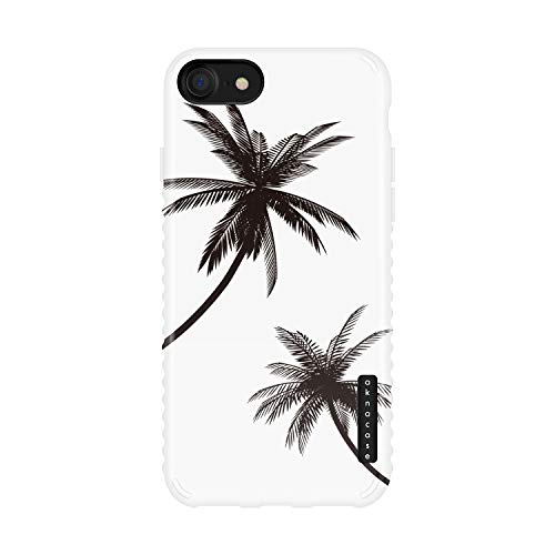 iPhone 8 & iPhone 7 & iPhone SE [2020 Released] Case Palm Trees, Akna Sili-Tastic Series High Impact Silicon Cover for iPhone 7/8 & iPhone SE [2020 Released] (605-U.S)