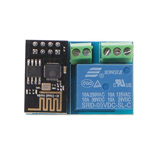 Módulo de relé WiFi Shanghaisty ESP8266 de 5 V, interruptor remoto inteligente para el hogar
