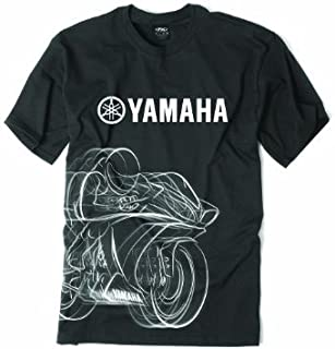 Factory Effex 'YAMAHA' R1 T-Shirt (Black, Large) by Factory Effex
