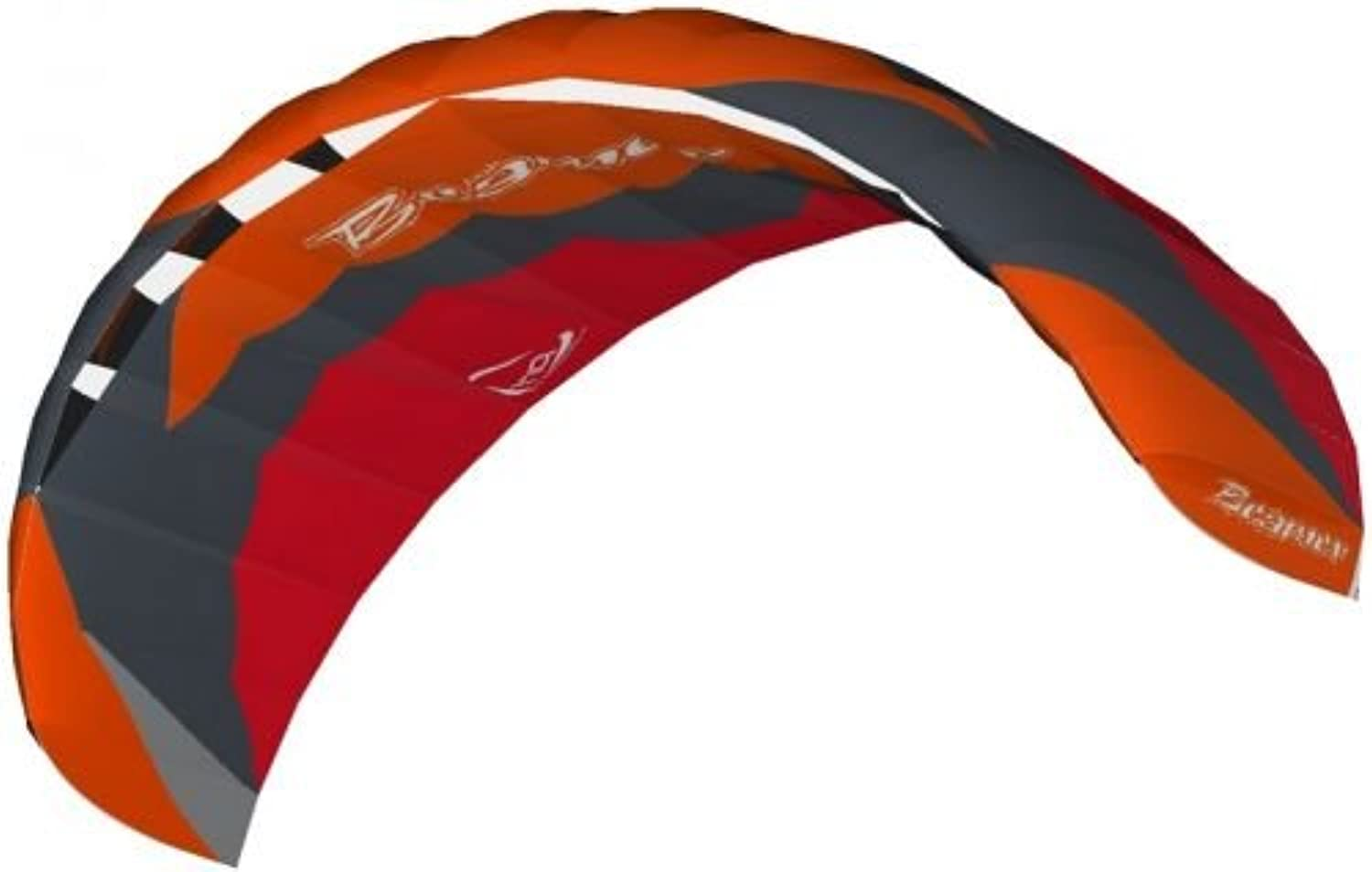 HQ Ready to Fly 4 Metre Beamer V Kite  Red