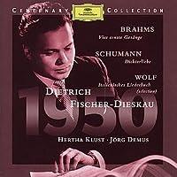 Brahms/Schumann/Wolf;Lieder