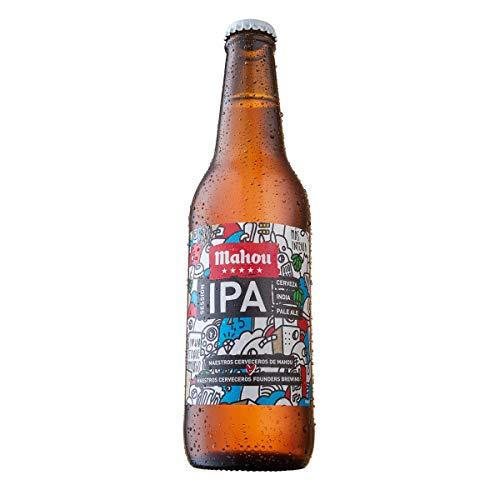 MAHOU cerveza ipa botella 33 cl