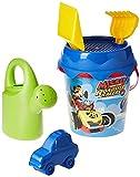 Mickey y Los Superpilotos- Mickey and The Roadster Racers Cubo de Playa Completo (Smoby 862074)