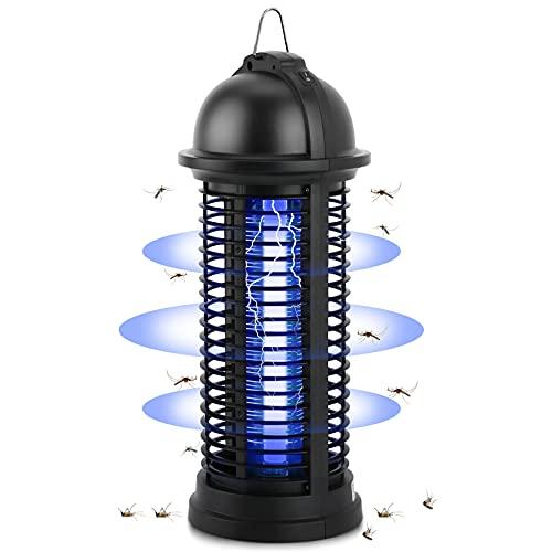 Migimi Elektrischer Insektenvernichter, Mückenlampe Mückenvernichter, Moskito Killer, UV Insektenvernichter Schutz vor Elektrischem, LED Insektenlampe für Schlafzimmer Gärten