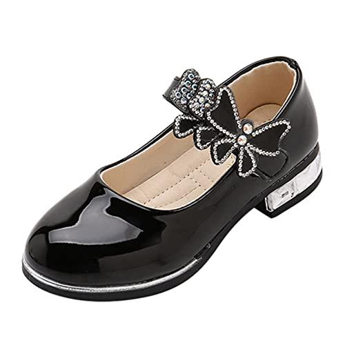YWLINK Zapatos Para NiñOs,NiñAs Flores Dulces Zapatos PequeñOs Zapatos Solos Zapatos Frescos Zapatos De Princesa Zapatos De Baile,Zapatos De Cuero,Zapatos De Rendimiento Con Suela Blanda,Inclinarse