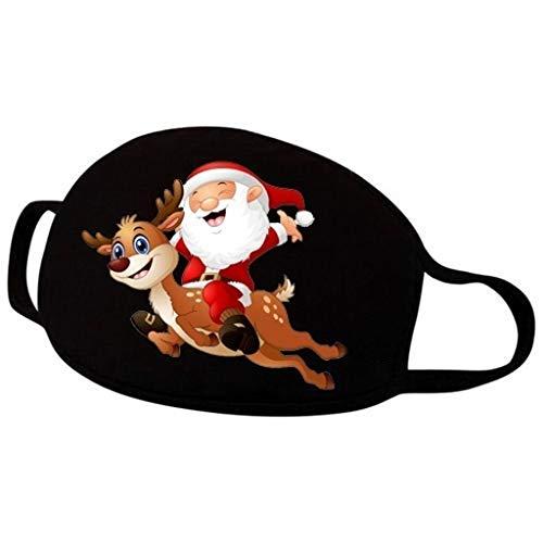 N/G Alifewill 1Pcs Face Màsc Bandanas Christmas Print Resue Breathable Multi-Purpose Face Màsc Reuse Face Màsc