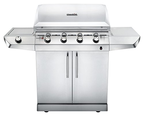 Char-Broil Performance Series™ T47G - 4 Burner Gas Barbecue Grill, Stainless Steel Finish.