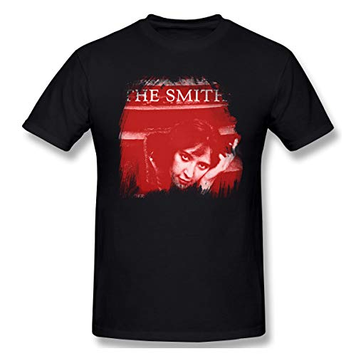 The S-miths Rock Band Louder Than Bo-mbs Men's T-Shirt Band Shirt Music Short Sleeve Round Neck tee Shirt