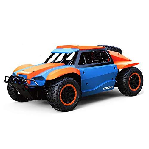 Darenbp Juguete RC para niños Monster Trucks remotas de control remoto del coche del control de radio de 2,4 GHz de alta velocidad de carreras de coches 4WD camiones fuera de carretera de control remo