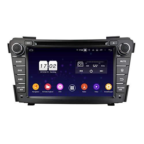 Android 9.0 Pie Auto Radio für Hyundai I40(2011-2014), 4 GB RAM+32 GB ROM, 7 Zoll Touchscreen DVD Player Bluetooth Radio GPS Navigationssystem Haupteinheit