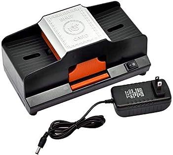 Card Shuffler High Speed Automatic Card Shuffler 1-2 Decks Plastic Shuffling Machine Playing Card Games Shuffler Friendl.