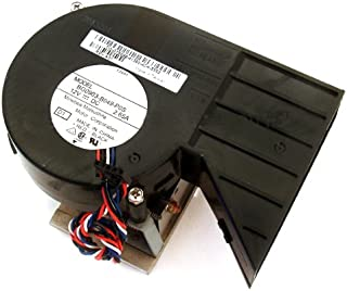 Dell T5098 CPU 5-Pin Blower Cooling Fan and Heatsink, For Optiplex GX280 Small Desktop Systems, Compatible Fan Part Numbers: T2607, ND186, Fan Model Number: BG0903-B049-P0S