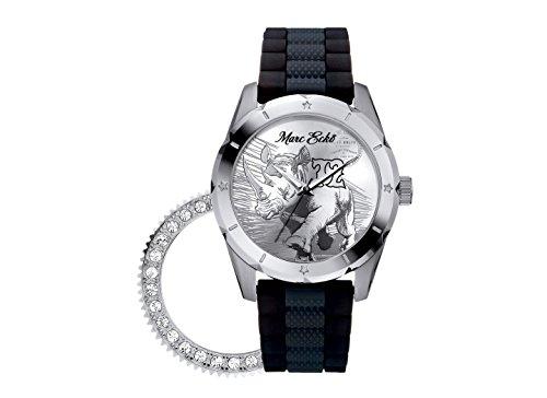Marc Ecko Reloj Análogo clásico para Hombre de Cuarzo con Correa en Caucho E09503G1
