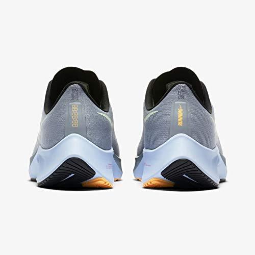 Nike Men's Air Zoom Pegasus 37 Running Shoes Obsidian Mist/Hydrogen Blue-Black 9.5 M US
