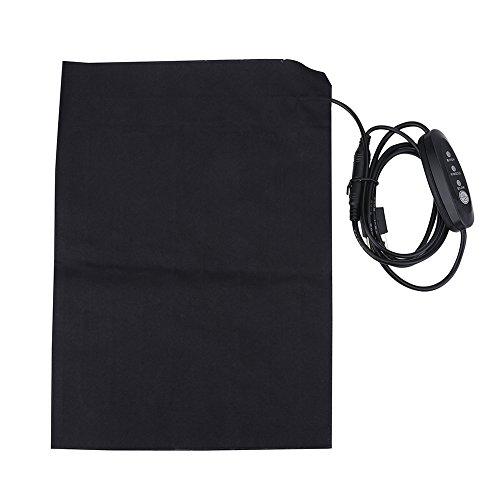 Alomejor Elektrische Heizkissen Ultra Wide Soft Fabric Heizkissen mit Fast Heizung Technologie für Outdoor und Indoor Aktivität
