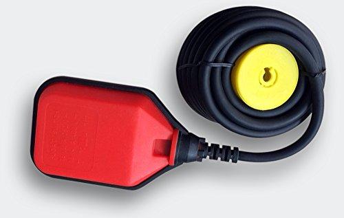 10m 250V 16A Schwimmerschalter Pumpe Tauchpumpen Pegelschalter Wechsler rot