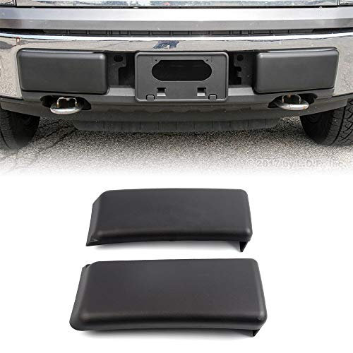 CHEDA 2Pcs Front Bumper Guards Pads Insert Compatible for Ford 2009-2014 F-150 F150 Insert Caps Pair RH & LH Right+Left