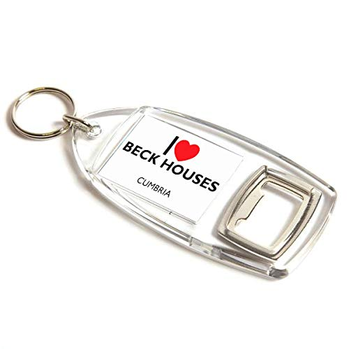 Flaschenöffner – I Love Beck Häuser – Cumbria