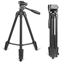 Lovinland T90 Portable Tripod with Phone Clip and Bluetooth Remote