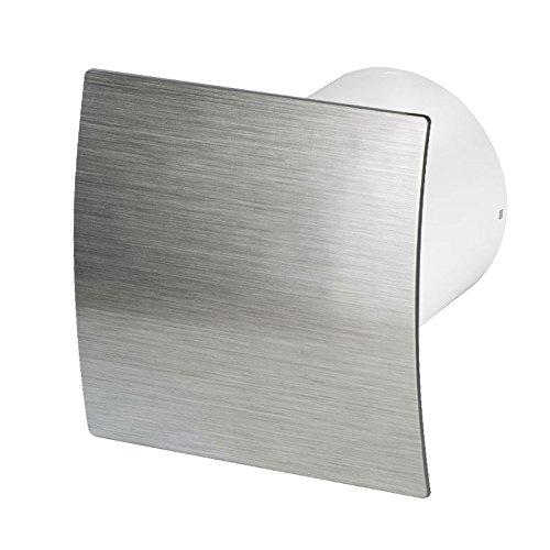 Bathroom Extractor Fan 100mm / 4' with Timer Humidity Sensor Humidistat...