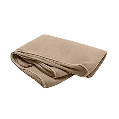 Furhaven Pet Dog Bed Cover - Micro Velvet Ergonomic Luxe Lounger Cradle Mattress Contour Pet Bed Replacement Cover for Dogs and Cats, Clay, Small