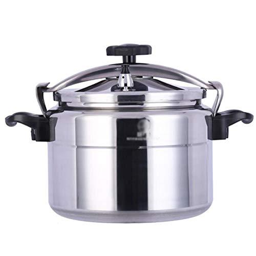 Cocina de presión especial para la estufa de gas, cocina de presión de aleación de aluminio de gran capacidad, cocina de presión a prueba de explosiones comerciales, adecuada para hoteles, restaurante