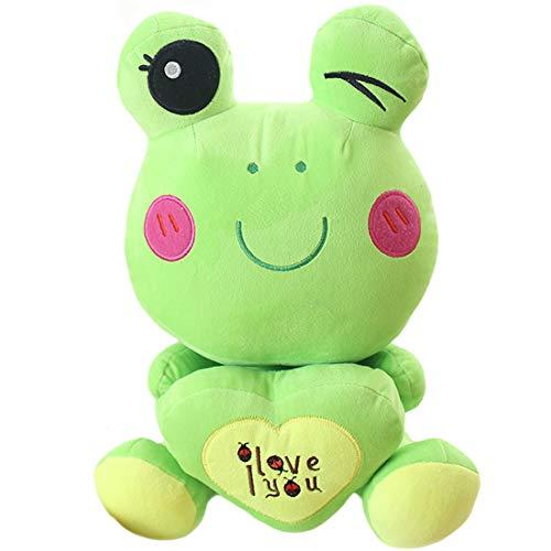 ELAINREN I Love You Frog Plush Toy …