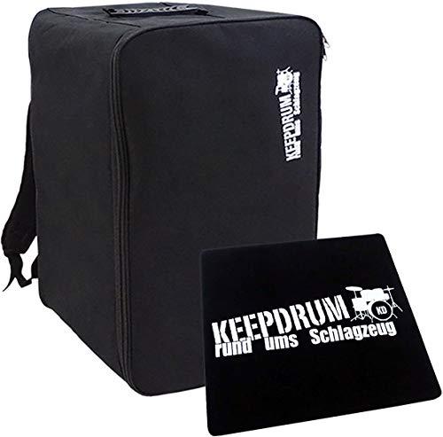 keepdrum CB02 Cajon Rucksack-Tasche + Sitzpad