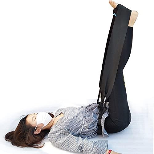 WXQY Leg Lifter Strap Beinheber Bein Gurt Oberschenkelheber Beinbewegungsgurt Beinhebehilfe Tragbare Behinderte ältere Handbewegungshilfe für Senioren