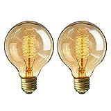 Ampoules Vintage 40W pour Décoration - 2 Pack
