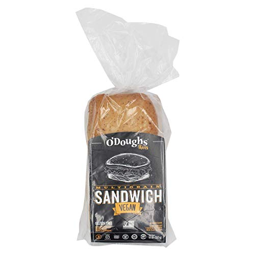 O'Doughs - Multigrain Sandwich Thins 18oz | Good Source of Fibre, Cholesterol Free, Trans Fat Free, Low in Sugar, Source of Omega 3 made with Sprouted Flax. | Pack of 3 |