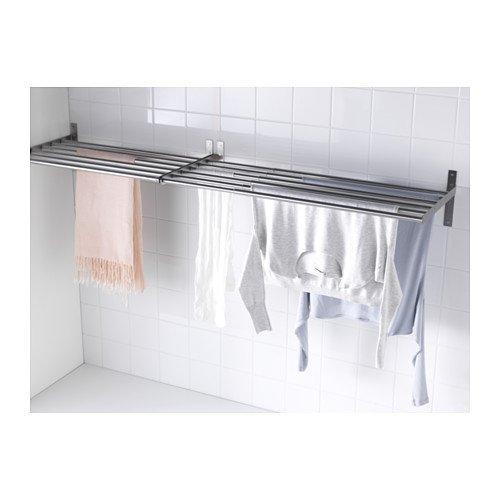 Ikea GRUNDTAL Abtropfgestell Wand Edelstahl