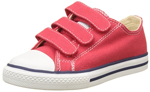 victoria Unisex-Kinder Zapato Basket Velcros Sneakers, Rot (Rojo), 32 EU